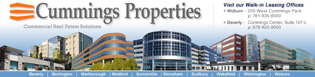 Cummings Properties: Leasing Advisor