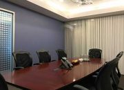 large conference room black chairs
