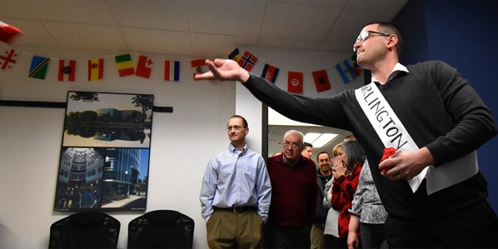 """Office Olympics"" a hit with Cummings team"