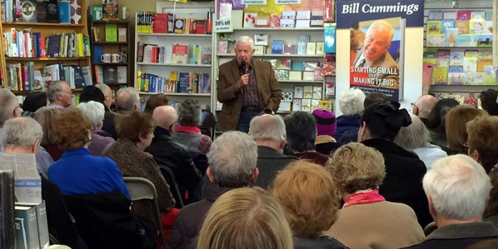 Cummings draws standing-room-only crowd to first book event in Winchester