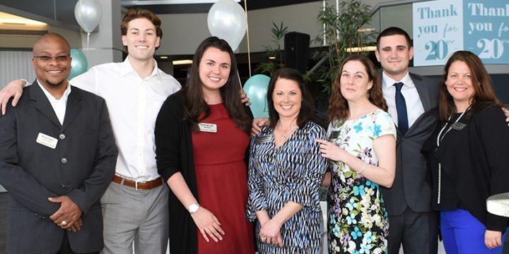 Cummings Properties honors 20-year clients